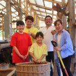 こやま牧場の家族写真