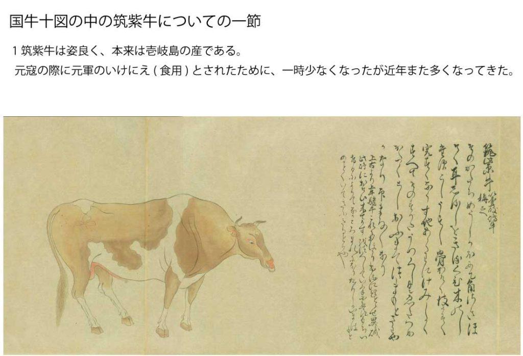 壱岐牛の歴史